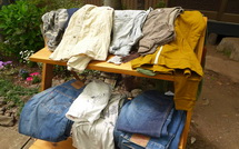 衣料の販売