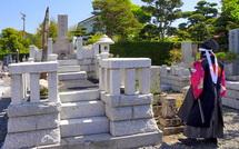 了善寺にある小川家の墓