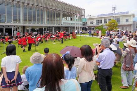 サロンコンサート会場の富士市交流プラザ