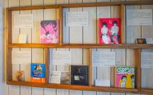 「青春」をテーマにした本の展示