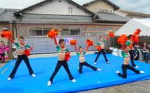 チアダンス演技