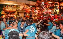 祇園祭ラストの競り合い