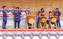 富士宮囃子の披露