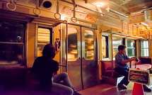 鉄道夜景を楽しむ