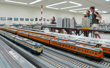 さまざまな鉄道模型を楽しめる