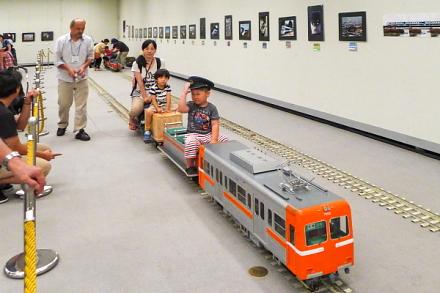 ミニ岳南電車の乗車体験