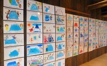 子どもたちが描く未来の富士山展