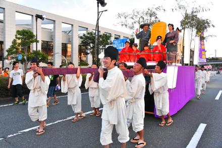 かぐや姫絵巻パレード