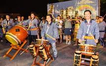 太鼓の競演(銀座町)