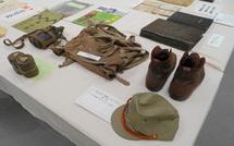 戦時中の物品展示