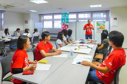 「富士山と、」ワークショップが行われたコミュニティf