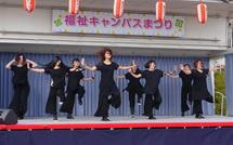 ステージでのダンス