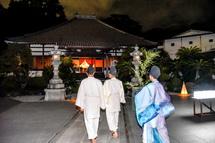 永明寺に到着