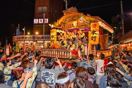 ラストの競り合い(富士本町)