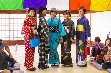 ファッションショー(キモノ♪Noriko)