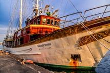 海の貴婦人と呼ばれる素敵な帆船