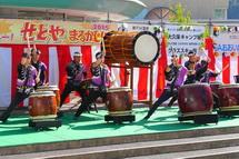 太鼓のステージ