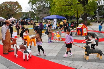 子供たちに人気のフジアートサーカス
