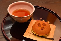 和菓子と良く合うブルーベリーリーフティー