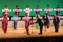 ロゼシアターで行われた開会式