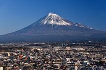 美しい富士山の眺めを楽しめた