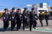 消防団訓練礼式