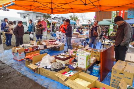 リサイクル品の販売 売上は震災復興支援として全額寄付