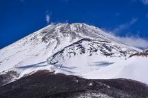 腰切塚からの富士山ズーム