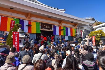 梅まつり開催の宗清寺