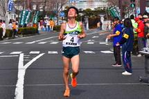 フィニッシュ 2位の東京農大Bチーム