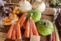 有機野菜の販売
