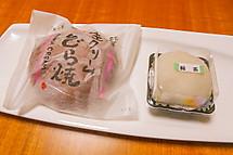 ゲットしたお茶スイーツ(和洋菓子はせがわ「おちゃちゃのちゃ」)