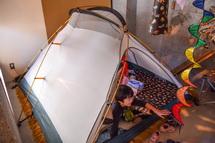 テントも設置