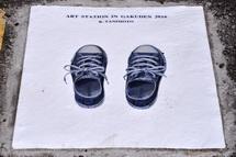 リアルに描かれた靴