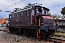 ED501機関車展示