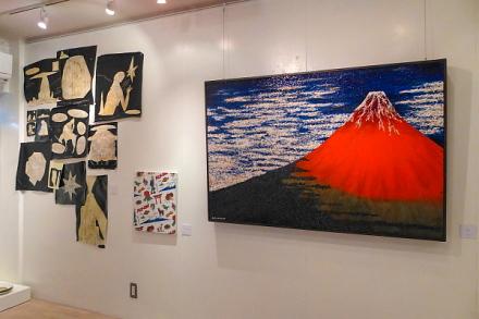 富士山展開催の金座ボタニカ