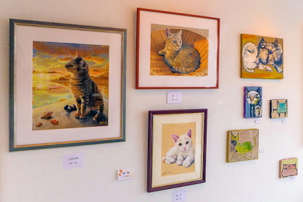 「あいらぶ猫展」開催のRYU GALLERY