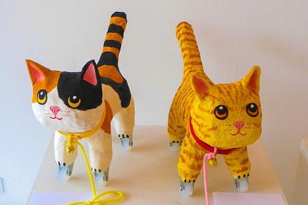猫をテーマにした作品