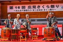 熊野太鼓の演奏