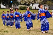 富士ばやしなどの踊り