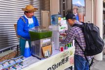 地元お茶屋さん(山田製茶)の出店