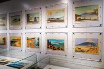 富士山に関する昔の絵画等の展示