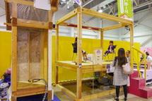 住宅設備の展示