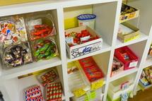 店内のある駄菓子が500円で食べ放題