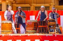 国久保熊野太鼓の演奏