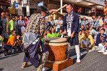 宮太鼓競演(木之元神社の町内)