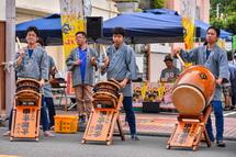 甲子祭の太鼓演奏