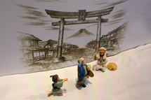 富士山信仰・登拝についての展示
