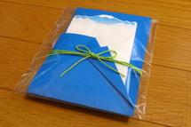 富士山イメージの紙ナプキン