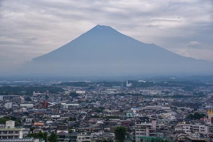 特別開放された「ふじさんてらすMierula」から見えた富士山